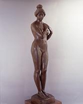 「ゆあみ」新海竹太郎(1868-1927)