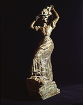 「パリジェンヌ」アントワーヌ・ブールデル(1861-1929)