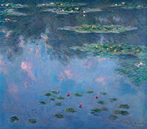 Water-Lilies<br/>(Nymphéas)Claude Monet