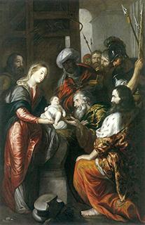 アントニオ・デル・カスティーリョ「マギの礼拝」