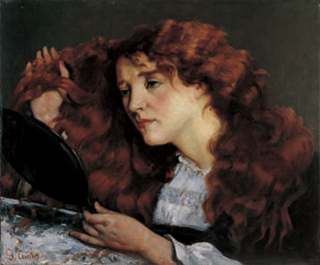 ギュスターヴ・クールべ「ジョーの肖像 美しいアイルランド女性」(1872頃)
