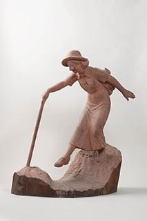 熊谷幸太郎「渓流」(1936年)