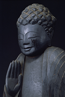 円空 釈迦如来立像 常楽寺(青森県むつ市)