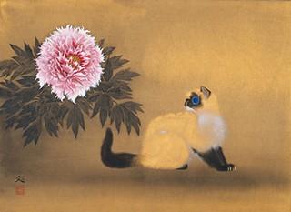 加山又造「微風」(1994年)
