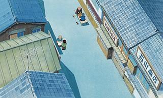 じゃりン子チエ《陽だまり》 (1981年 ©はるき悦巳/双葉社・東宝・ユニバーサルミュージック・TMS)