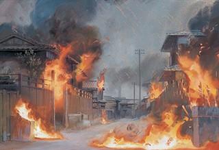 火垂るの墓《火炎》 (1988年 ©野坂昭如/新潮社,1988)