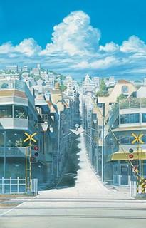 時をかける少女《踏切》 (2006年 ©「時をかける少女」製作委員会2006)
