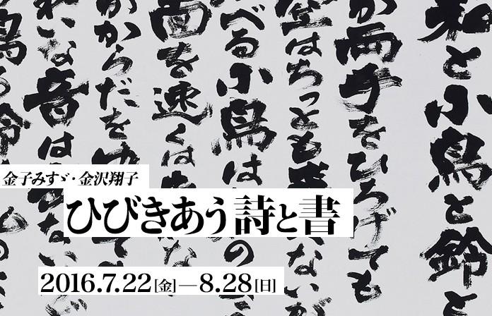 金子みすゞ・金澤翔子 ひびきあう詩と書