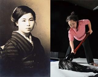 (肖像) 金子みすゞ [金子みすゞ著作保存会提供] と金沢翔子