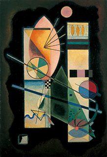 ヴァシリー・カンディンスキー《緑色の結合》1926年 吉野石膏コレクション