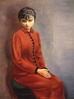 モイーズ・キスリング《ジョゼット》1934年 服部コレクション