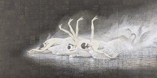 同人 西田俊英 《瀕死の白鳥》