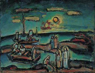 《キリストと漁夫たち》 1947年頃