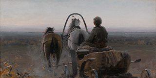 アブラム・アルヒーポフ《帰り道》1896年、油彩・キャンヴァス<br /> © The State Tretyakov Gallery