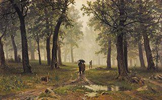 イワン・シーシキン《雨の樫林》1891年、油彩・キャンヴァス<br /> © The State Tretyakov Gallery