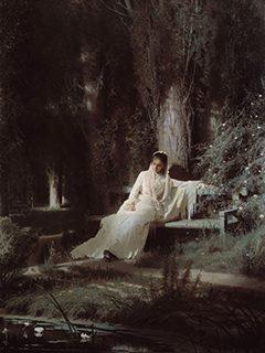 イワン・クラムスコイ《月明かりの夜》1880年、油彩・キャンヴァス<br /> © The State Tretyakov Gallery