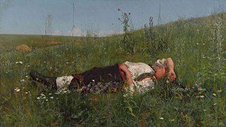ニコライ・クズネツォフ《祝日》1879年、油彩・キャンヴァス<br /> © The State Tretyakov Gallery