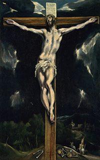 エル・グレコ(本名ドメニコス・テオトコプーロス)《十字架のキリスト》油彩/カンヴァス、国立西洋美術館