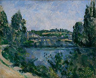 ポール・セザンヌ《ポントワーズの橋と堰》1881年、油彩/カンヴァス、国立西洋美術館